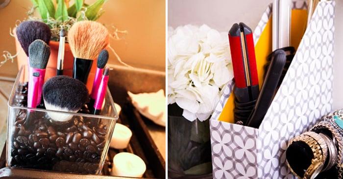 20 Trucos para organizar tus productos de belleza ¡Te cambiarán la vida!