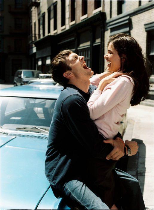 Escena de la película El amor es lo que tiene