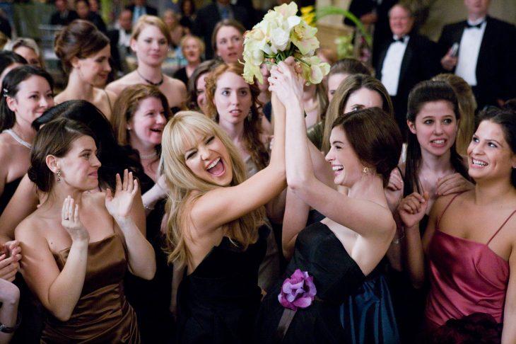 Escena de la película guerra de novias