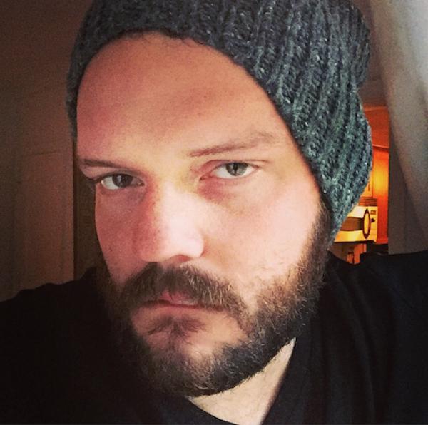 hombre de barba