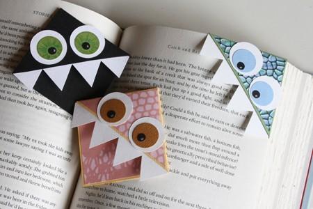 separador de libros casero