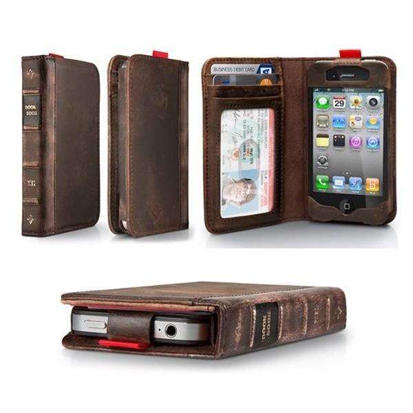funda para celular en forma de libro