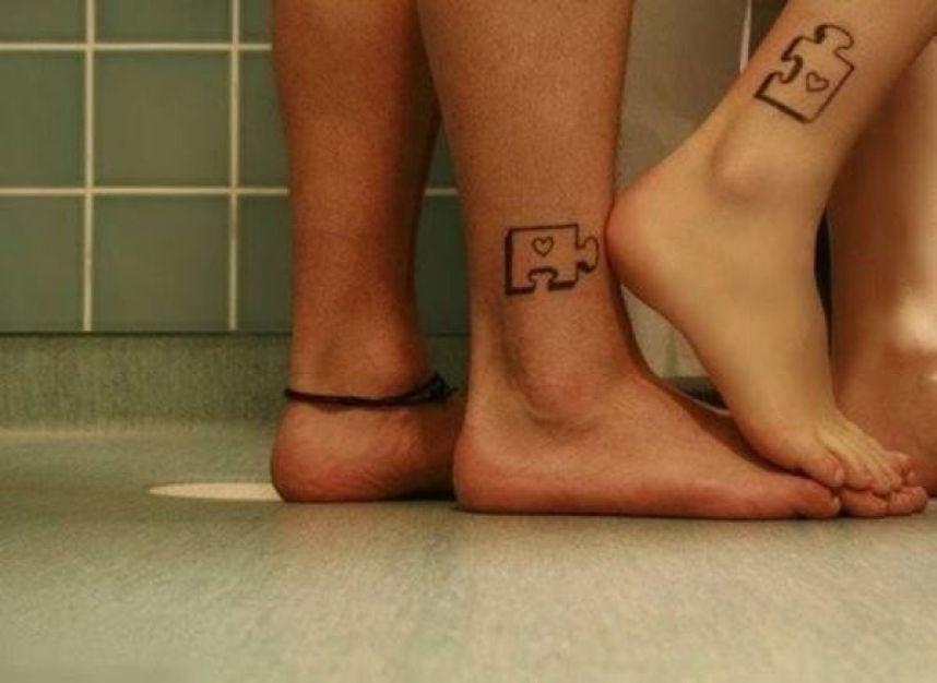 25 Tatuajes Para Parejas Enamoradas Que Vas A Querer Tener