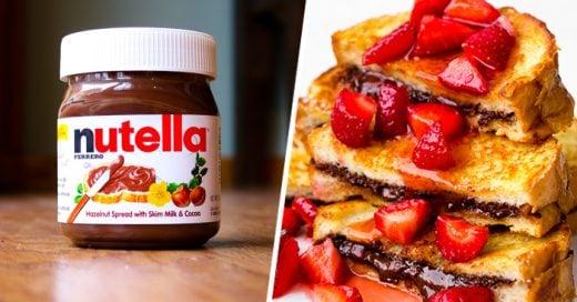 15 Deliciosos postres que todo amante de la Nutella DEBE preparar