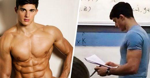 Este es el ARDIENTE profesor de matemáticas que todas deseamos tener