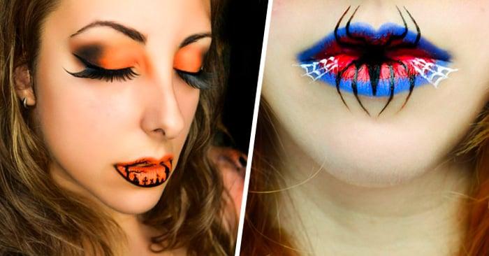 14 Ideas increíbles para maquillaje en tus labios