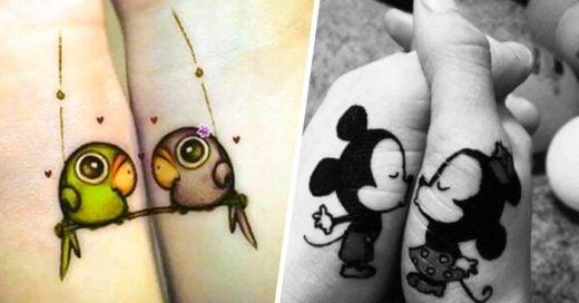 25 Tatuajes para PAREJAS que todos los ENAMORADOS se van a querer hacer