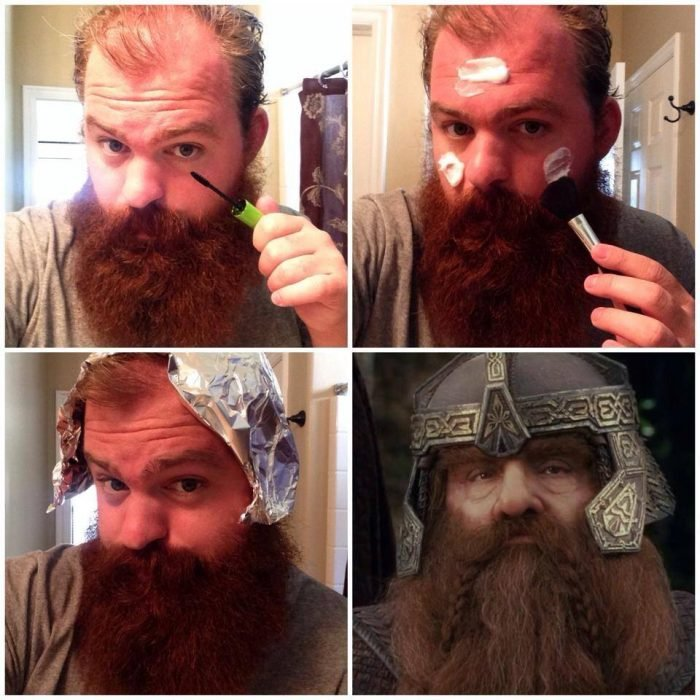 #makeuptransformation Gimli