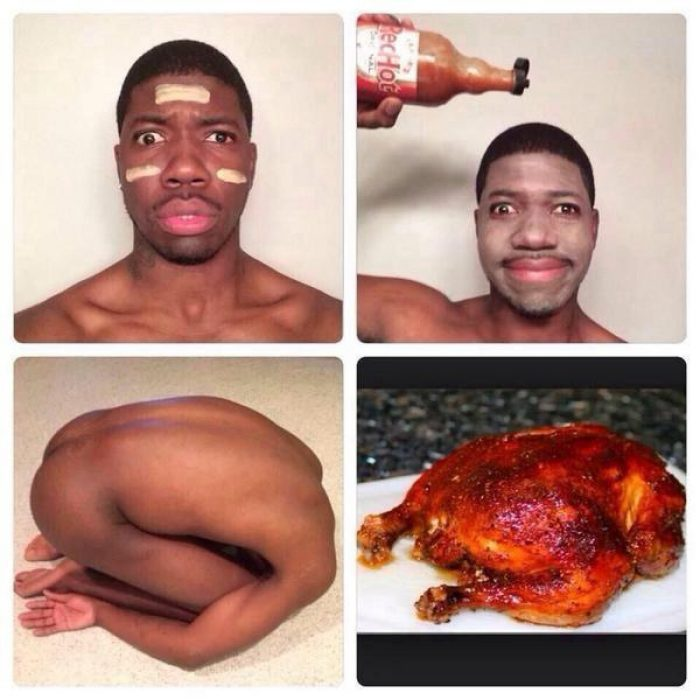 #makeuptransformation Pollo Rostizado