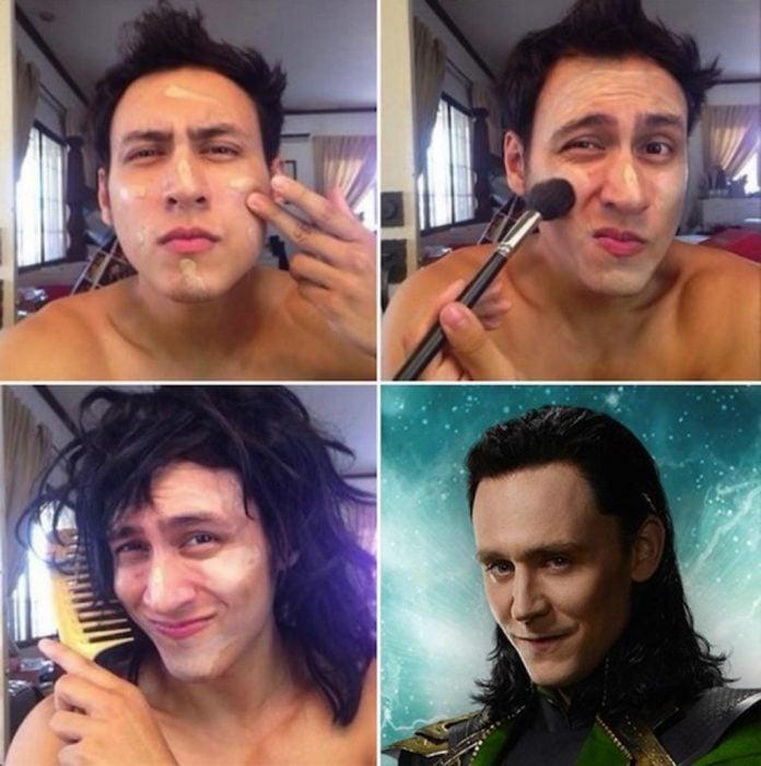 #makeuptransformation Loki