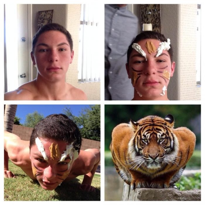 #makeuptransformation Tigre