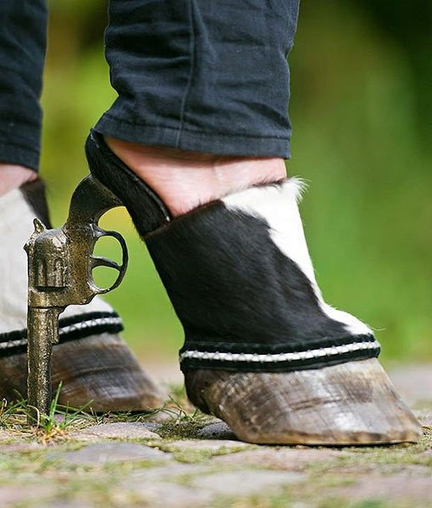 Raros Mundo 32 El En Zapatos Que Extraños Más Y Existen qn4gUTFn