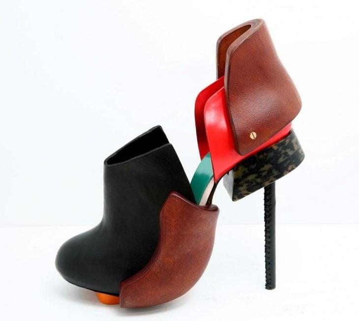 zapatos que se ajustan a la forma del pie
