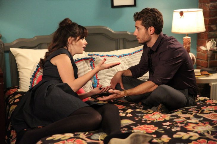 Escena de la serie the new girl