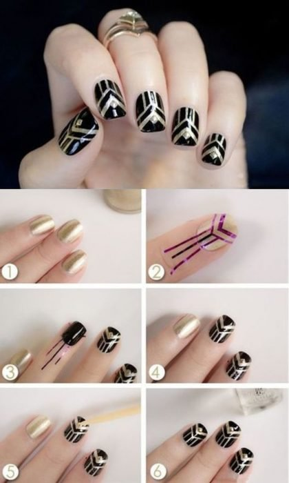 explicacion de como decorar uñas paso a paso