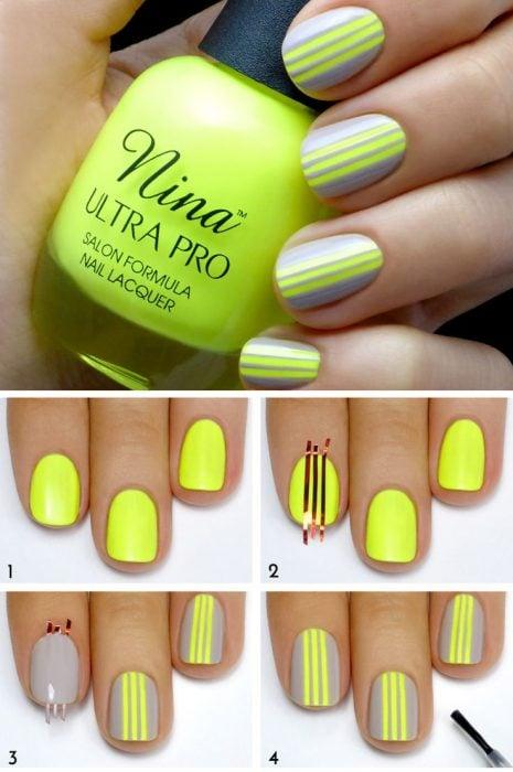 15 Diseños de uñas que puedes hacer paso a paso - a25