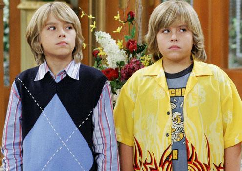 gemelos de la serie de Disney Chanel Zack y cody