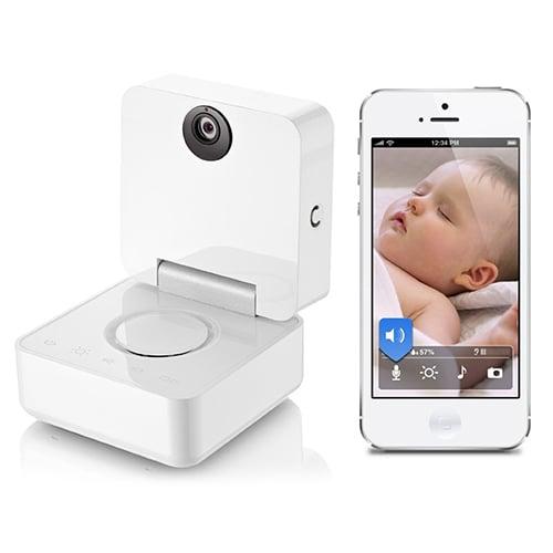 cámara de monitoreo para el bebé que se conecta al celular