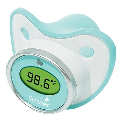 chupón con termómetro