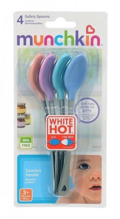 cucharas que regulan la temperatura de la comida