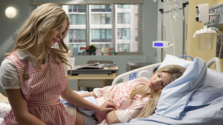 Amigas en el hospital