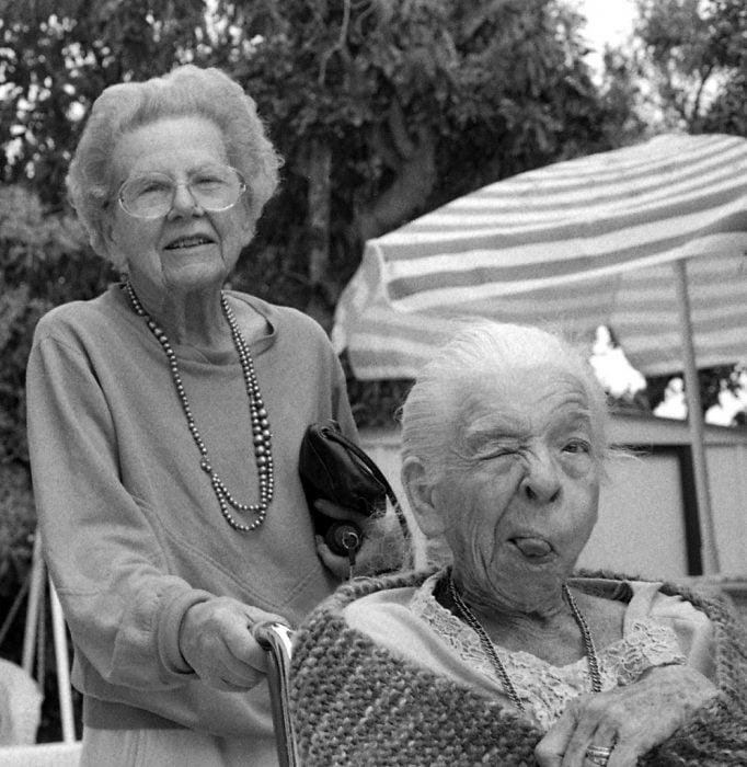 Mejores amigas de viejitas