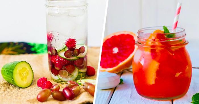 15 Saludables y deliciosas BEBIDAS que te quitarán la SED
