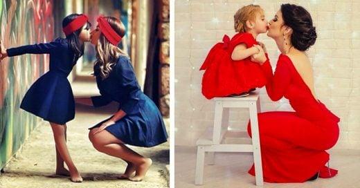 De tal palo, tal astilla: 25 adorables fotos que muestran el amor INCONDICIONAL de madre e hija