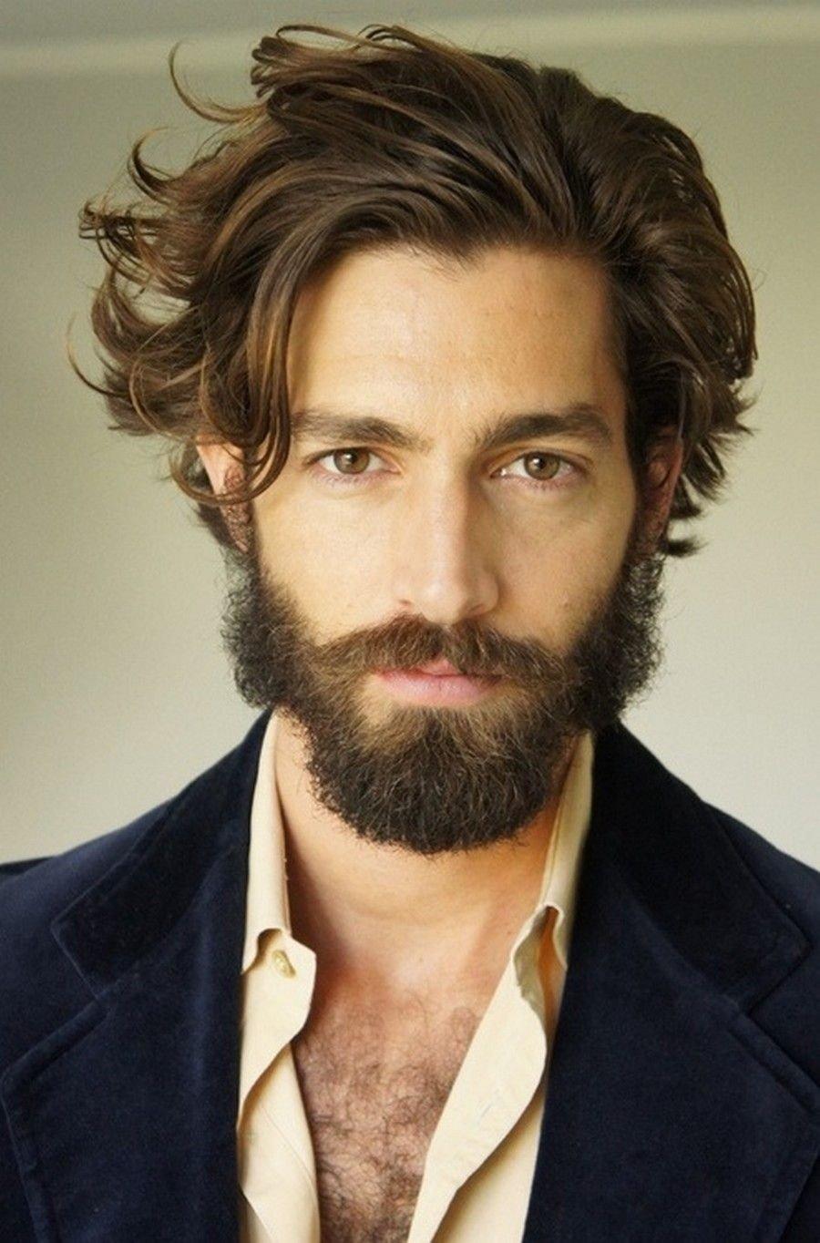 Peinados para cabello medio largo hombres