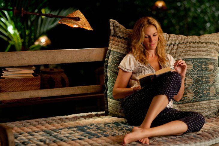 Escena de la película comer, rezar y amar