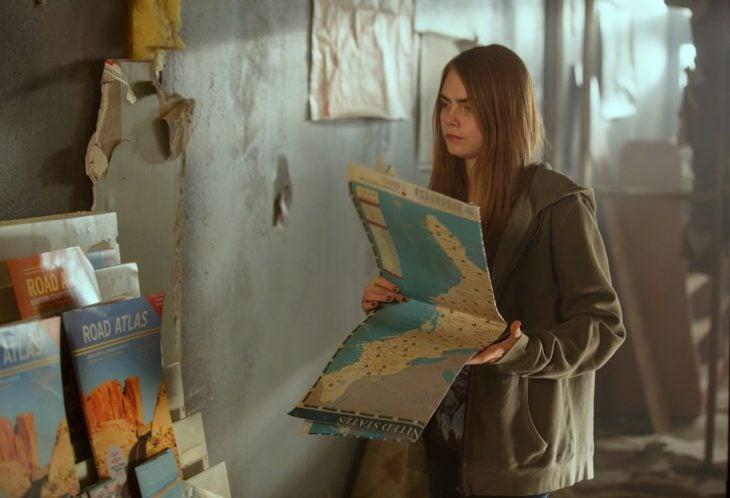 Escena de la película Ciudades de papel