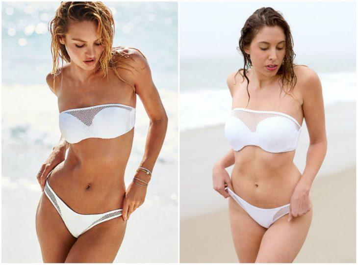 Chicas imitando a modelos de Victoria's Secret