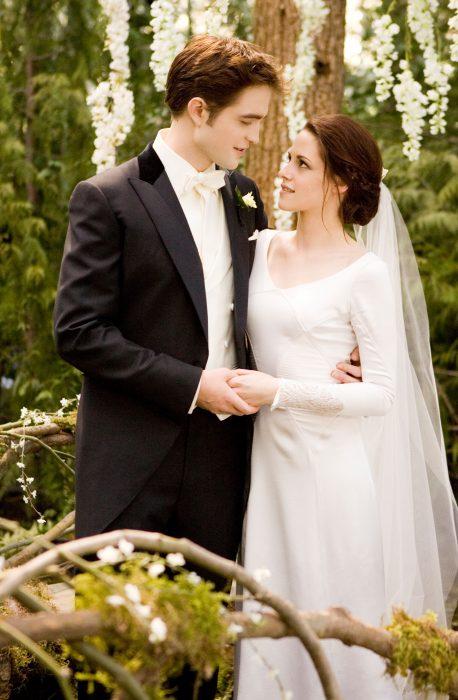 Escena de la película amanecer parte 1 boda de bella y edward
