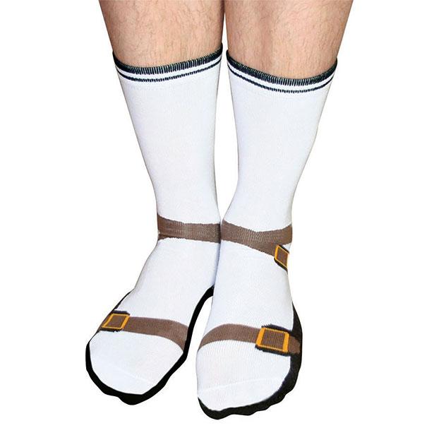 calcetines en forma de sandalias