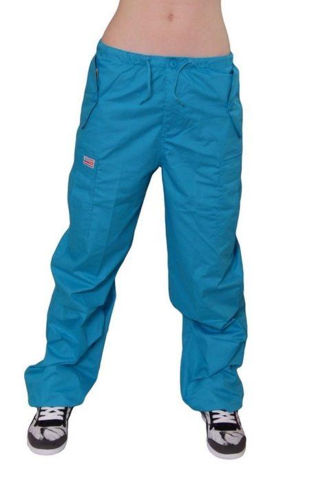pantalones de color azul grandes de los 90's