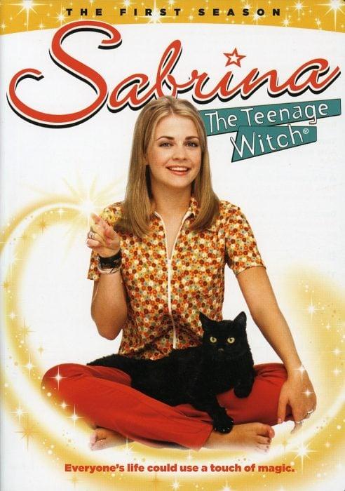 poster de la serie sabrina la bruja adolescente