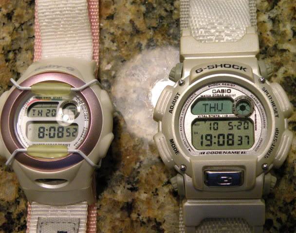 relojes con transparencias