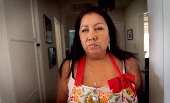 """madre mexicana haciendo la """"mirada"""""""