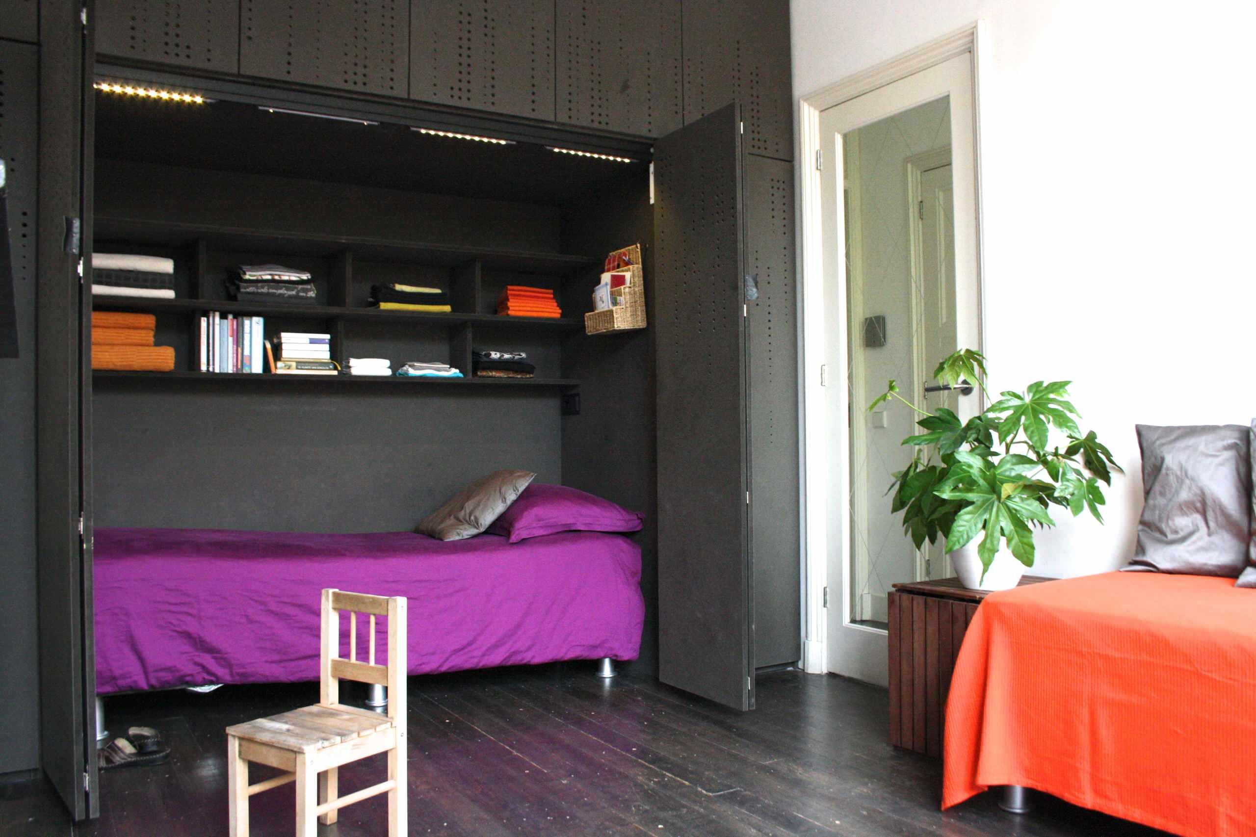 20 incre bles ideas para ahorrar espacio en una habitaci n