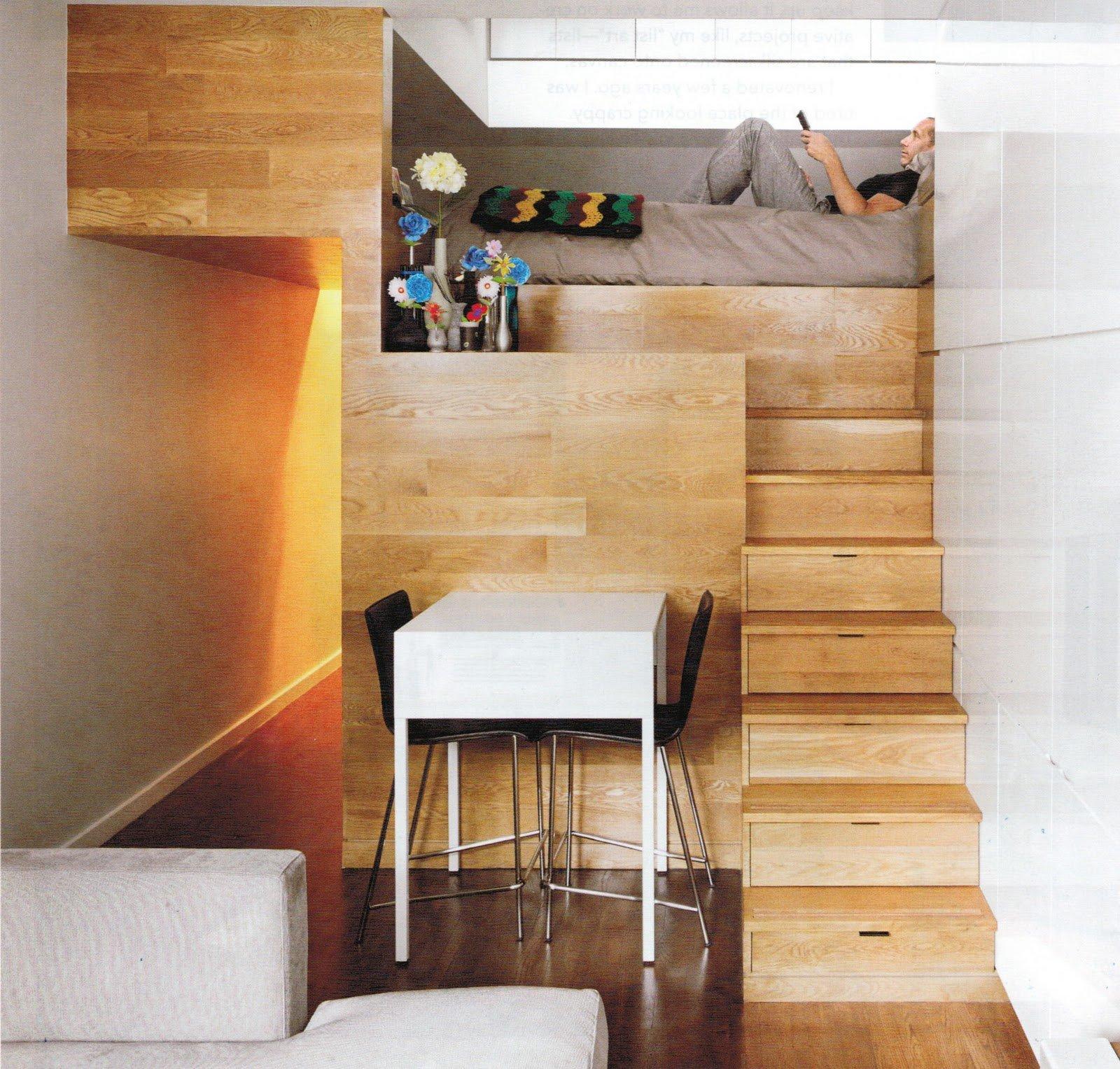 20 incre bles ideas para ahorrar espacio en una habitaci n for Ideas para el hogar espacios pequenos