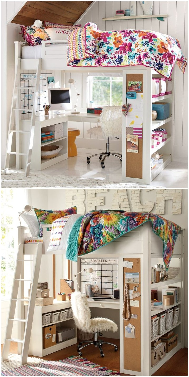 Wyatt 39 s new room on pinterest loft beds ikea hacks and ikea - Ideas para loft ...
