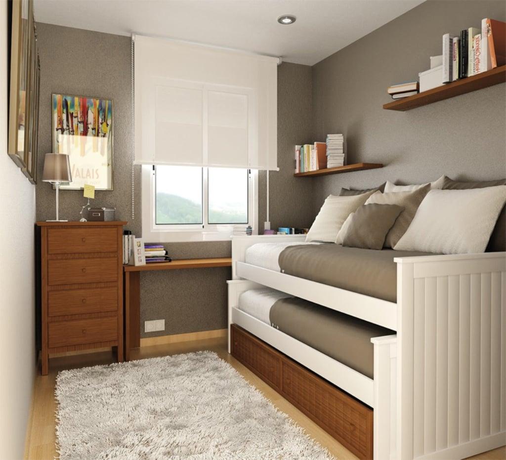 20 Increíbles Ideas Para Ahorrar Espacio En Una Habitación