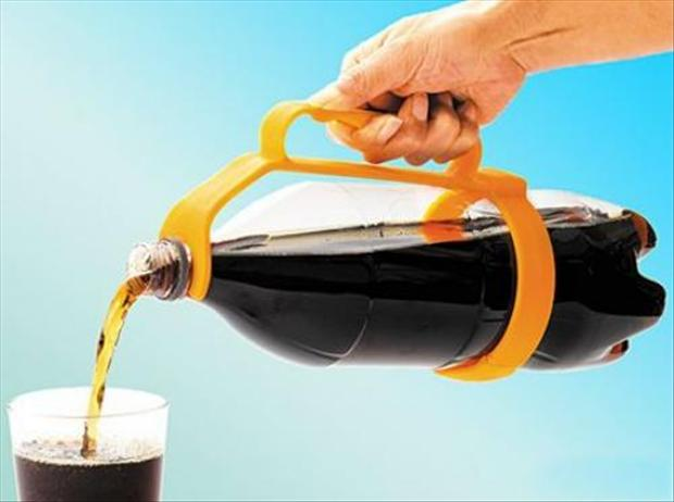 sujetador de refrescos
