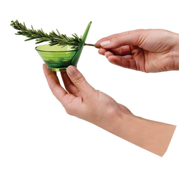 Separador De hierbas color verde