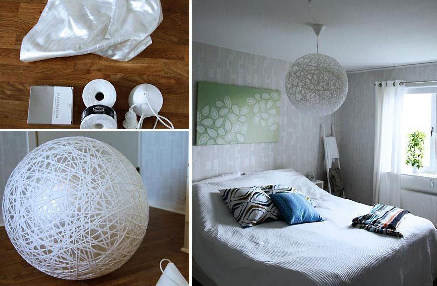 21 Creativas y originales lmparas que puedes hacer t misma