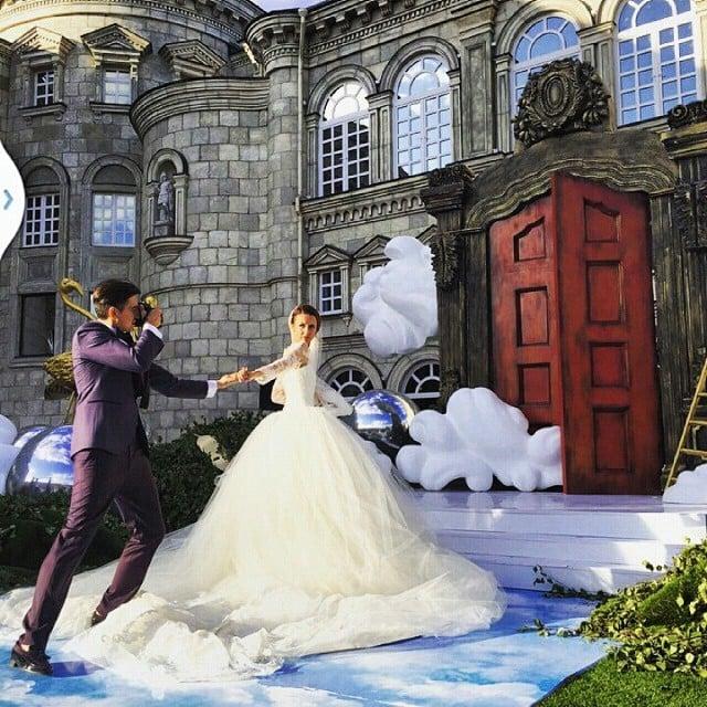 pareja más famosa de instagram el día de su boda