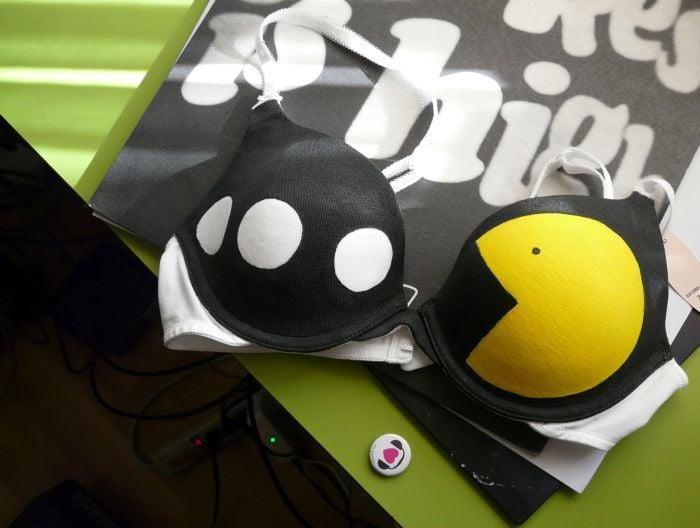 Sostén de Pacman