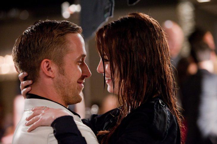 Escena de la película Loco y estúpido amor