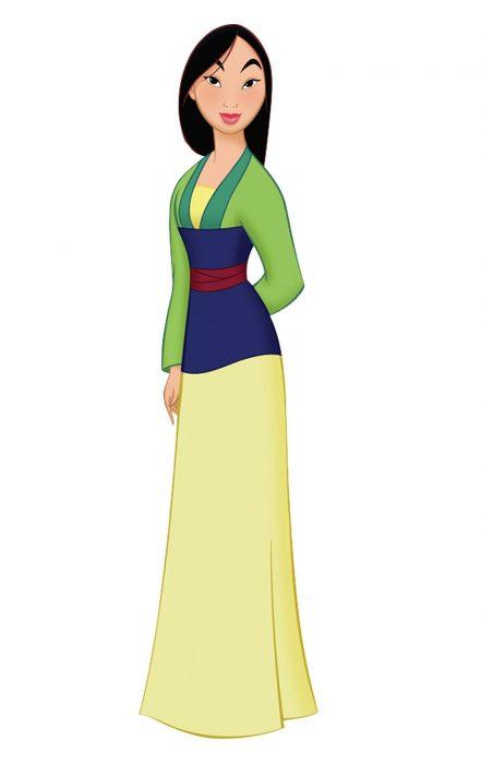 Princesa Mulan de Disney