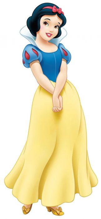 Blanca Nieves de la película de Disney